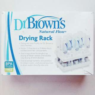 DR. BROWN'S BABY BOTTLE DRYING RACK