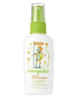 Babyganics Natural Insect Repellent (59ml)