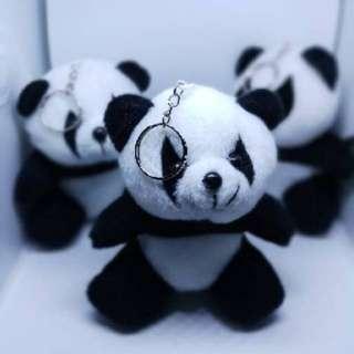 Gantungan kunci panda lucu