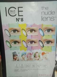 Softlens ice no8