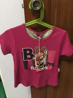 Baby Top Powerpuff girl for age 3-4