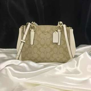 COACH CHRISTIE DOUBLE ZIP