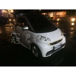 2012年 Smart 白 搭配3500元交車方案 輕鬆貸款無負擔