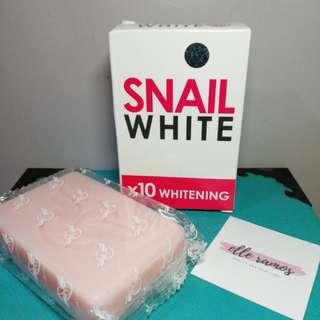 SNAIL WHITE 10X WHITENING SOAP