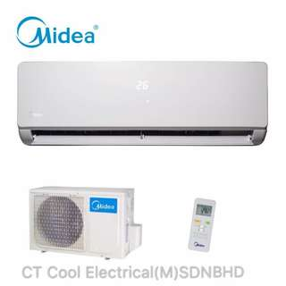 Midea Aircond Promotion