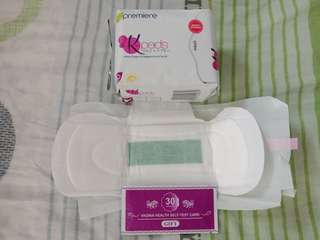 K-pad (Napkin and Pantyliners with An Ion)