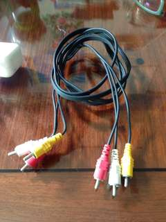 Audio RCA (1.5 meter) cable