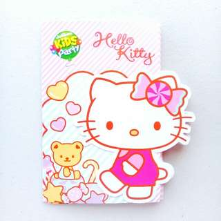 14 PCS SANRIO HELLO KITTY KIDS BIRTHDAY PARTY INVITATION CARDS FOR HELLO KITTY THEMED PARTIES
