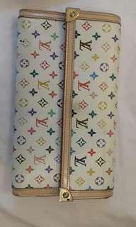 LV  Multicolore Wallet
