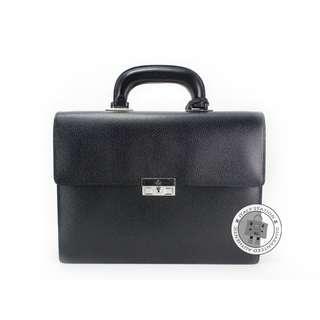 (NEW) GUCCI 201849 B690N LEATHER BRIEFCASE SHW, BLACK / 1000 全新 黑色 手提包 手袋