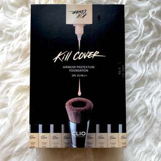 Clio kill cover airwear protexture foundation