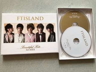 FTISLAND Beautiful Hits for ASIA CD