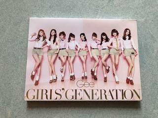 Girls' Generation Gee CD
