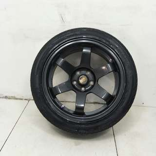 16 '' Sport Rim With Tyre 5x100 (SR1025)