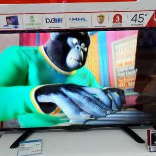 Led Tv Sharp 45 inch MURAH (Kredit TANPA CC)