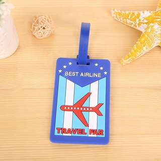 Travel ID Identifier Luggage Tag / Luggage Tags /Travel needs/Silicone Luggage Tag/Name Tag/Bag Tag