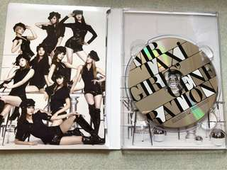 Girl's Generation Mr Taxi CD