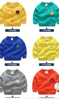 BN - kid cartoon sweater coat