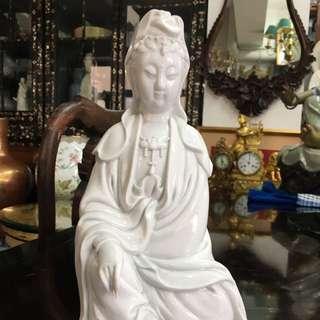 Vintage blanc de chine guanyin