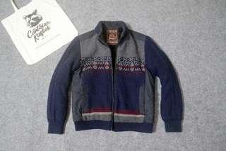 Nordic knitwear jacket