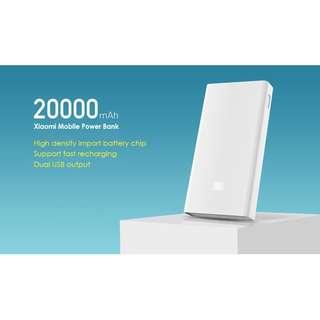 Xiaomi 20000mAh Powerbank ( White )