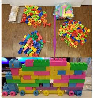 Kids Blocks and Education toys - 5 Different sets