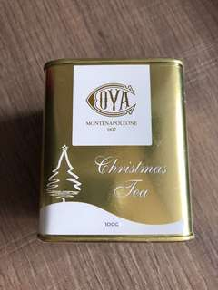 Cova Christmas Tea