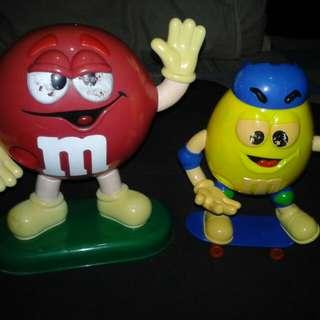 M&M collectibles action figure
