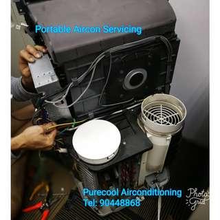 Portable Aircon Servicing