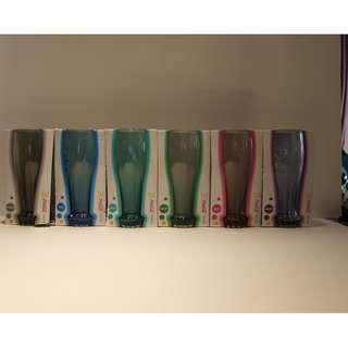 100%全新,無用過、麥當奴 McDonald x 可口可樂2013 玻璃杯