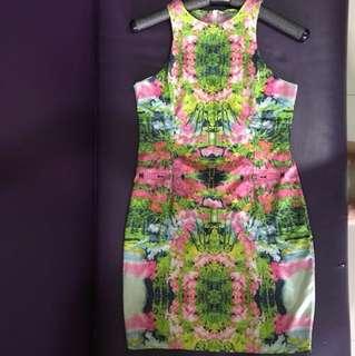 Reprice !!! Flower dress import