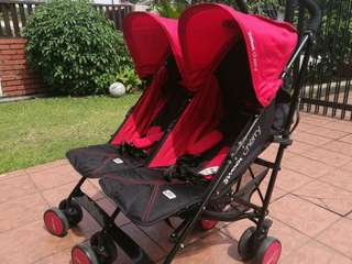 Sweet Cherry Twin Stroller (Red)