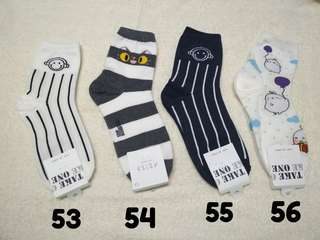 Printed Socks/Iconic Socks