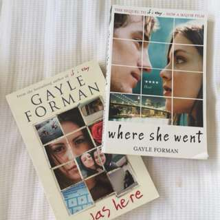 Gayle Forman books