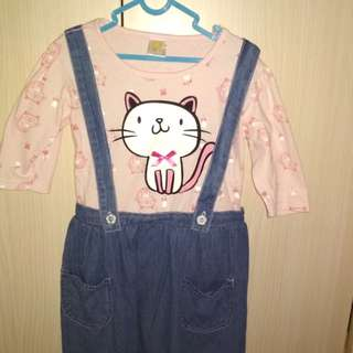 Overall anak perempuan