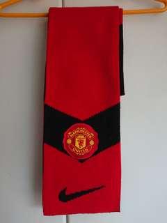 曼聯nike 09/10頸巾 manchester united scarf