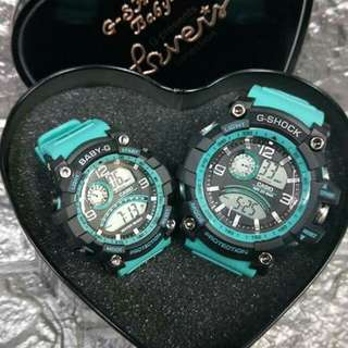 New g-shock couple watch resell 450 couple free can 😊 Single BABY g & g-shock resell 280 free can 👏