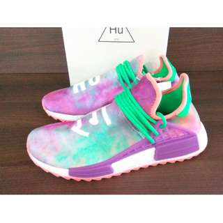 d84ee6b436b6d Adidas NMD Human Race Pharrell Williams Holi Pack Chalk Coral