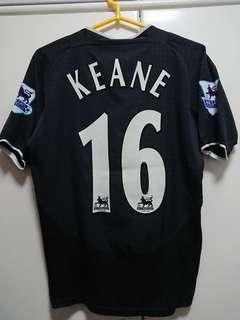 曼聯03/04作客球衣 #16 Keane 堅尼 Manchester United Away Jersey