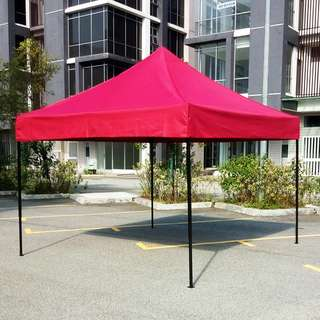 8' x 8' CANOPY 800D CLOTH FOR BAZAAR / PASAR MALAM / GERAI