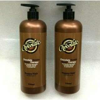 chocolate keratin hair 750ml