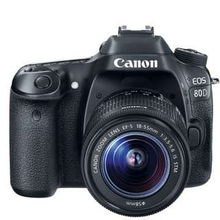 Canon EOS 80D 18-55mm IS STM Kit