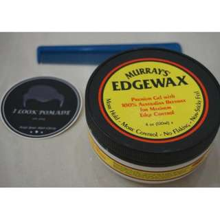 pomade edge wax