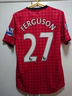 曼聯12/13主場球衣 #27 Ferguson Manchester United Home Jersey