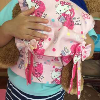 Tula like doll carrier