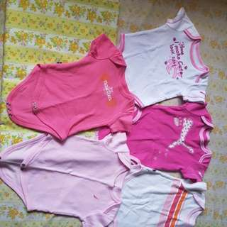 5 pcs Overall Clothes for Newborn Babies