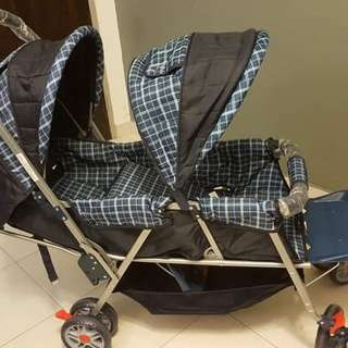 Brand new twin stroller