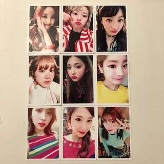 Twice Signal 專輯 特典卡