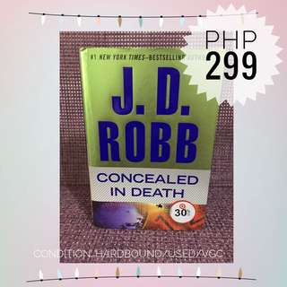 Concealed In Death - J.D Robb