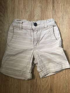 Baby Gap Khaki Stripes Shorts